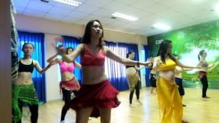 Trung tâm múa bụng Sài Gòn - Lớp bellydance cơ bản và nâng cao - Mashy haddy choreo