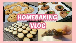 홈베이킹 브이로그 | 쿠키만 만드는 브이로그 | 초코칩…