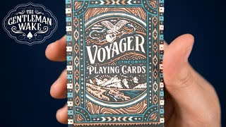 Voyager Playing Cards from Theory 11 Deck Review and GIVEAWAY