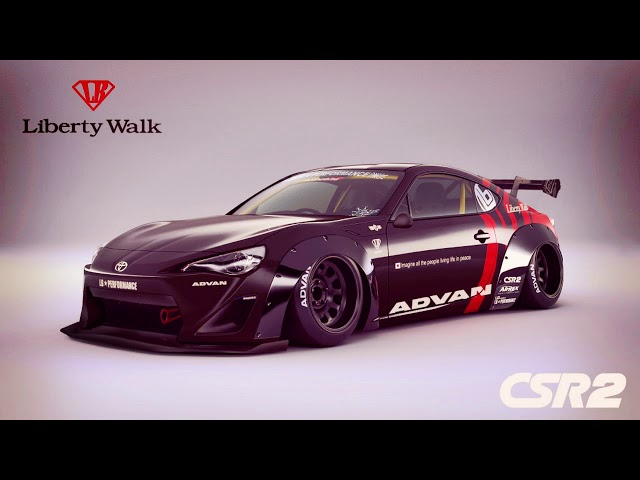 Toyota 86 Gets the Widebody Treatment from Liberty Walk