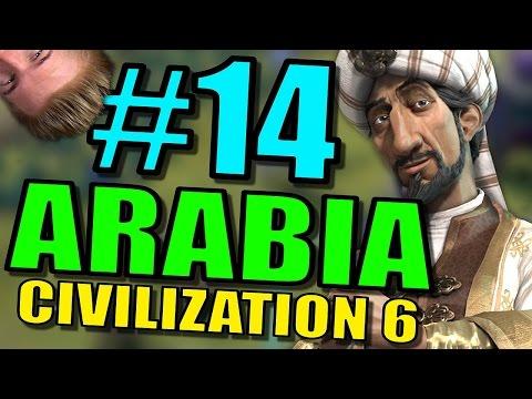 Civilization 6: Arabia Gameplay | Civ 6 Let's Play | Part 14 - Leader Saladin Strategy |