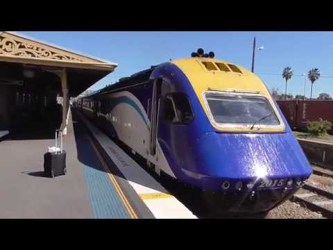 XPT - Melbourne to Sydney on 'The Daylight' (NSW train like Inter City 125 HST, Railroad Australia)