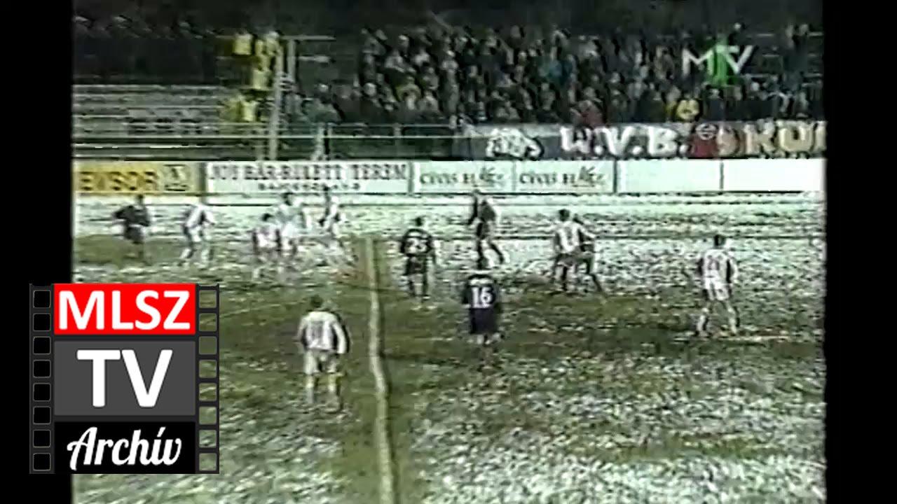 Debrecen-Újpest | 2-3 | 2000. 03. 17 | MLSZ TV Archív