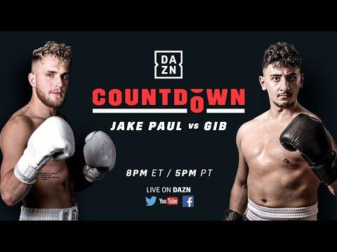 Countdown To Jake Paul Vs. Gib