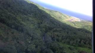 Me landing a dash 8 in dominica