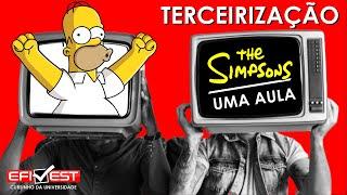 Os Simpsons 'previram' impacto da terceirização