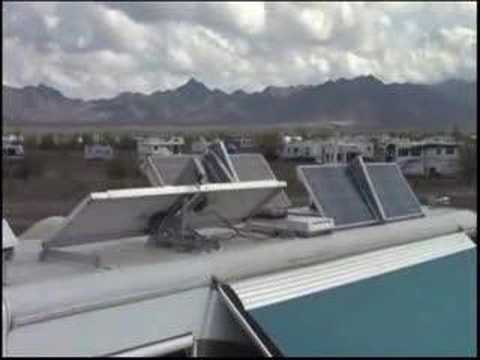 Rv Solar Panel Lift Youtube