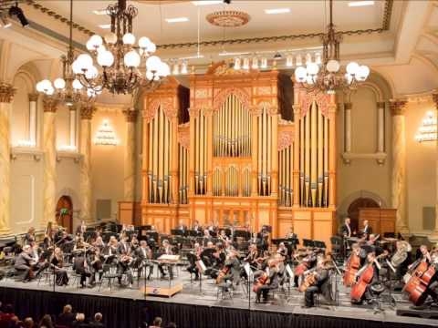 Adelaide Town Hall Organ and Immanuel College Choir - Ode to Joy