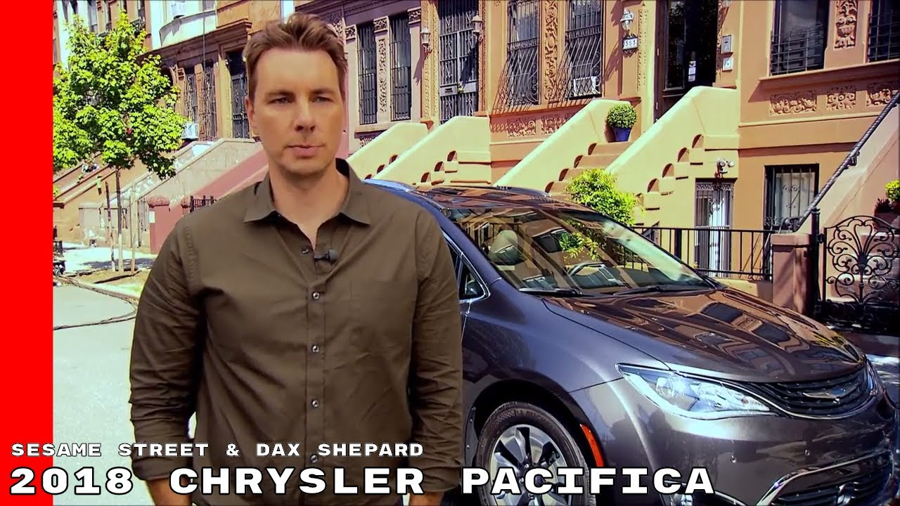 Sesame Street Amp Dax Shepard With 2018 Chrysler Pacifica