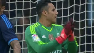 Keylor Navas MAGIC Save vs Celta de Vigo | Real Madrid vs Celta de Vigo 2-0 2015