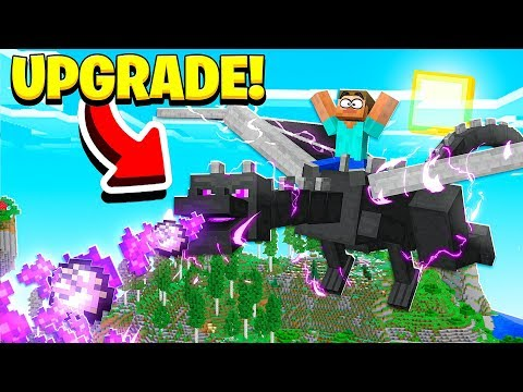 UPGRADING THE MINECRAFT ENDER DRAGON! (Pet Ender Dragon)