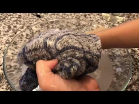 How to wash tweed yarn
