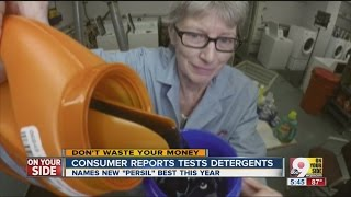 Consumer Reports tests for best laundry detergent