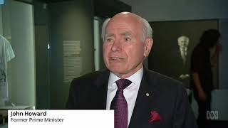 John Howard gets a library but no end in sight for energy wars