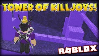 COMPLETING THE TOWER OF KILLJOYS!!! | JToH sur Roblox #3