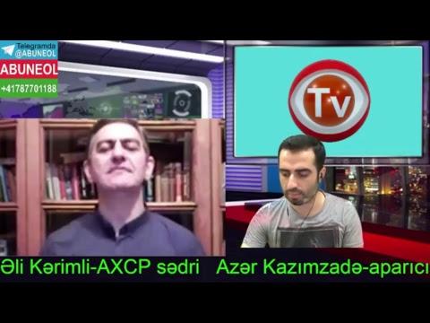 İlham Əliyevi durdurmaq üçün xalq meydana çıxmalıdır-Əli Kərimli