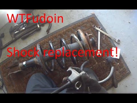 WTFudoin: 2003 Honda Odyssey shock replacement