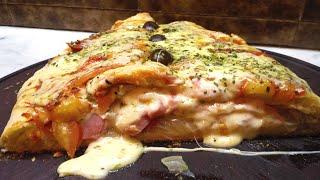 Calzone Napolitano A la Pizza Recetas Facil – Amigos En La Cocina