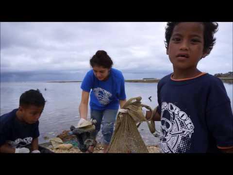 International Coastal Cleanup day 2016 of Majuro atoll, Marshall Islands (マーシャル諸島マジュロ環礁)
