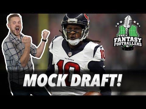 Fantasy Football 2019 - First Mock Draft of 2019 + Dynasty Draft Tips - Ep. #702 Mp3