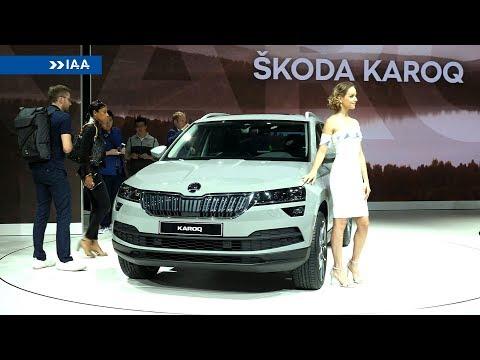 2018 Skoda Karoq at the Frankfurt Motor Show