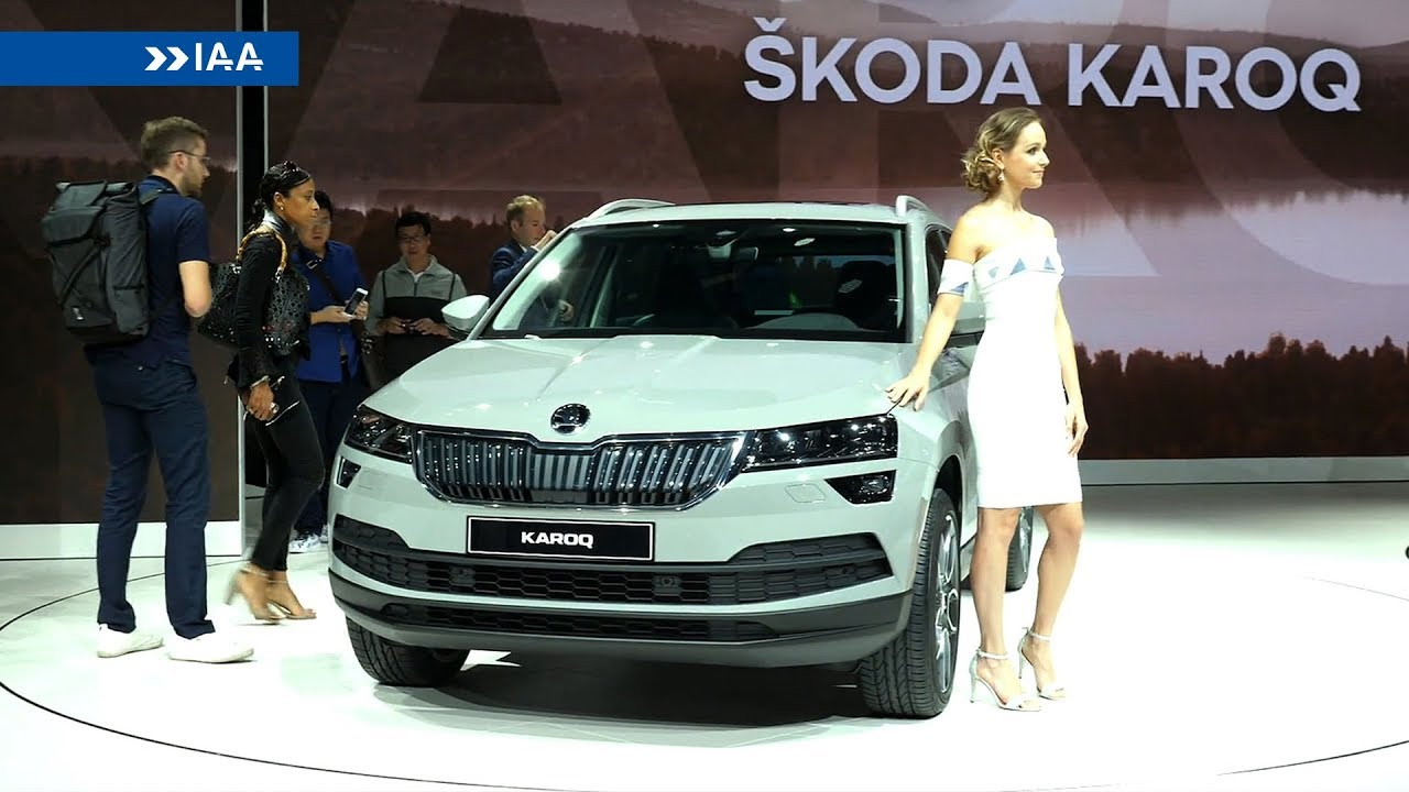 2018 skoda karoq at the frankfurt motor show youtube. Black Bedroom Furniture Sets. Home Design Ideas