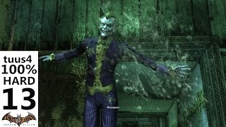 Batman: Arkham Asylum Walkthrough (Hard 100%) Part 13 - Whoopsie