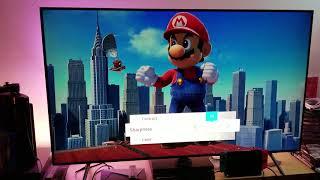 Super Smash  Bros : Ultimate _ Upscaled to 4K via Samsung Q8fn QLED & Game Mode Settings
