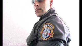 NYPD New York City Police Department leather Cop