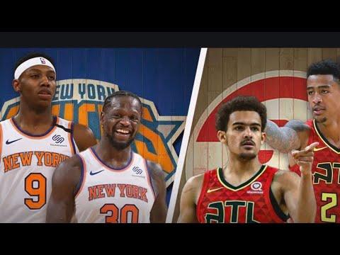 Rose, Randle rally Knicks past Hawks to tie series at 1-1