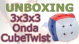 Apresentação do 3x3 Onda da CubeTwist (unboxing)