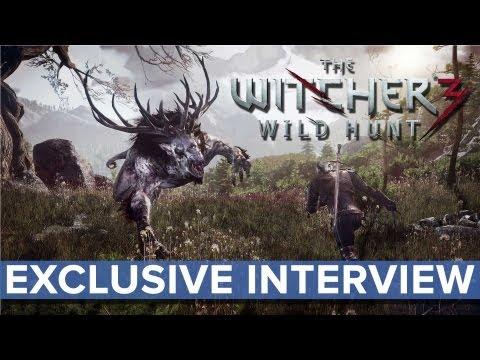The Witcher 3: Wild Hunt - EXCLUSIVE Interview - Eurogamer