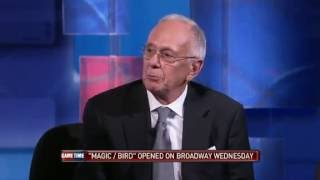 Larry Brown tells wilt chamberlain story vs. Magic