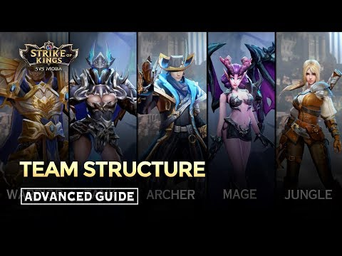 Team Structure - Arena of Valor