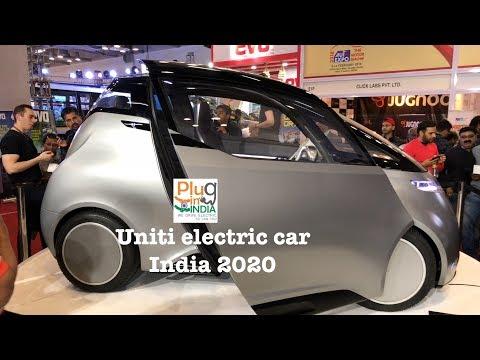 Uniti 5 seater electric car @ Auto Expo 🇮🇳 🇦🇽