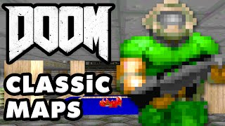 CLASSIC MAPS! - DOOM Gameplay Walkthrough (PC)