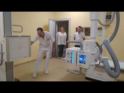 Nowy sprzęt RTG w szpitalu