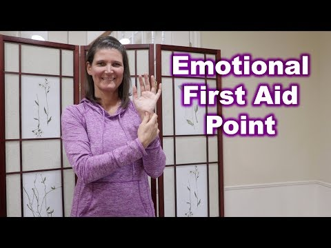 Emotional First Aid Acupressure Point
