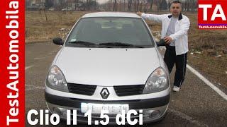 RENAULT Clio II 1.5 dCi TEST