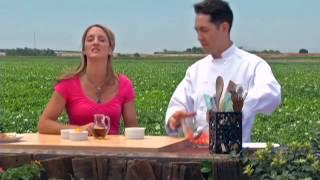 Bringing It Home - Chef Robert Masullo - Watermelon And Jicama Salad With Rosemary Flatbread