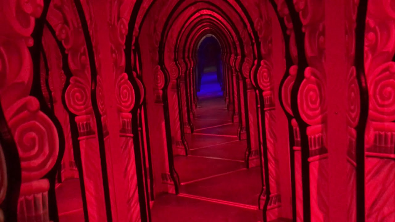 Hollywood Wax Museum Myrtle Beach Mirror Maze Walk Through September 3rd 2018