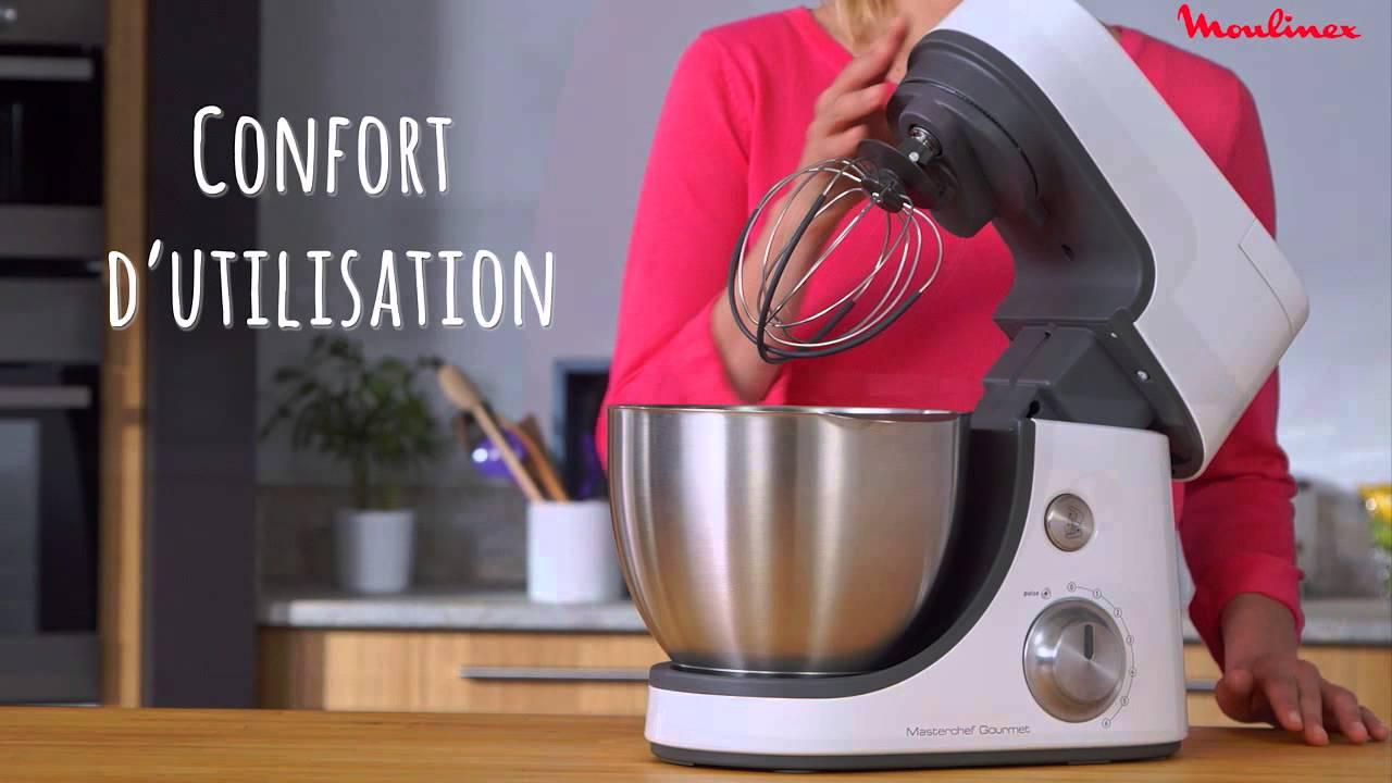 Masterchef gourmet le robot p tissier de moulinex youtube - Robot cuisson moulinex ...