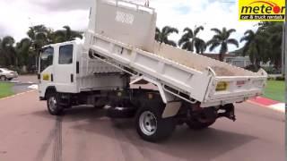 Meteor Car & Truck Rental - Isuzu NPR 300 'Crew' dual cab tipper