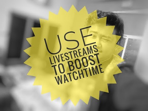 How to Use Live Streaming to Increase Watch Time And Audience Engagement