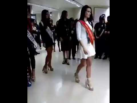 Miss Universe Belgium, Argentina, Chile & Uruguay Greeted By The Media Upon Their Arrival