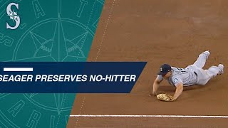 Extended Cut: Seager's diving stop preserves no-no