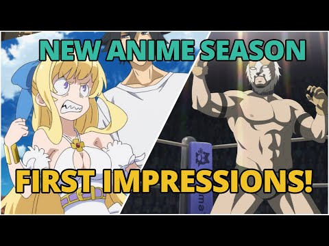 NEW FALL ANIME   Fall 2019 First Impressions (Part 1)