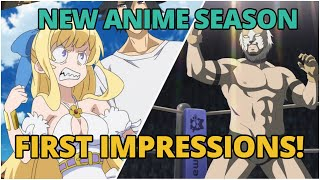 NEW FALL ANIME | Fall 2019 First Impressions (Part 1)