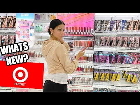 NEW DRUGSTORE MAKEUP AT TARGET!!  HIT OR MISS? thumbnail