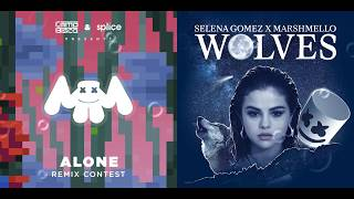 Songs used: alone - marshmello (official remix stems) wolves selena gomez ft. acapella and instrumental) follow me on facebook! https:...